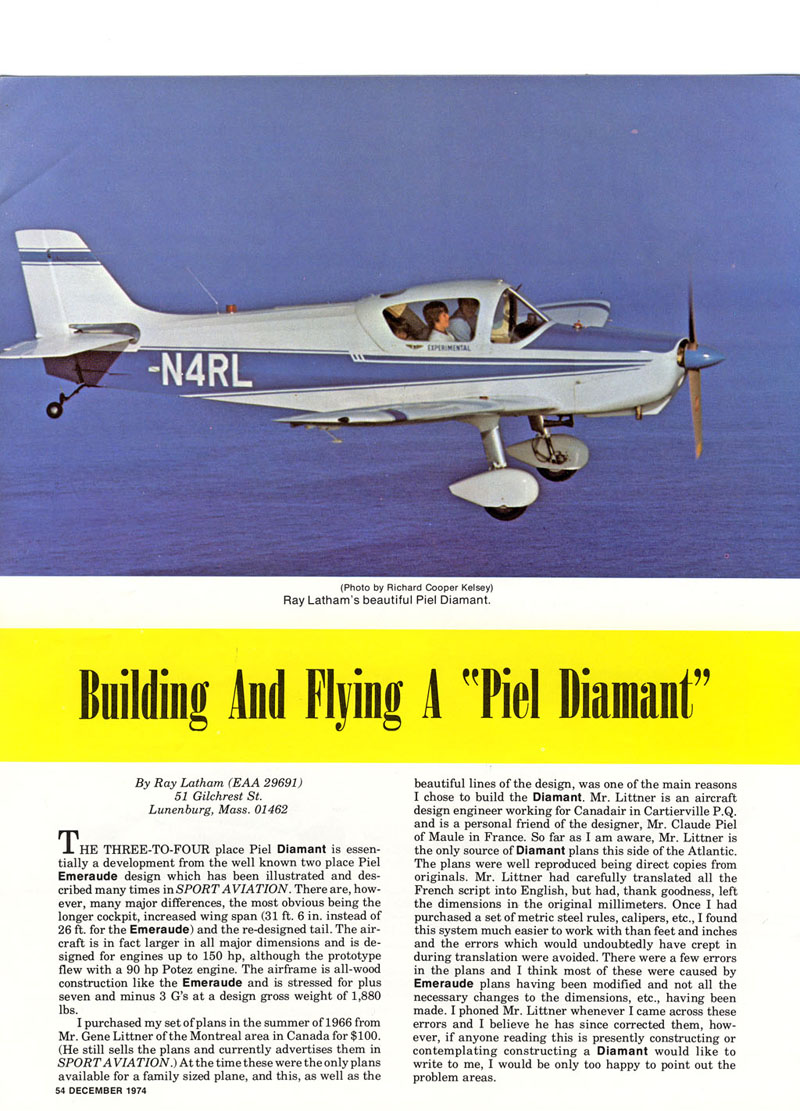 Build and Flying Piel Diamant - 1.jpg
